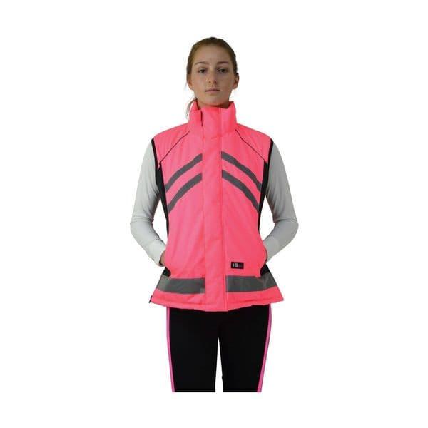 Hyviz padded gilet - pink
